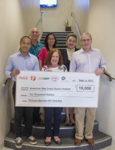 Group donates $10K to American Red Cross Guam Chapter