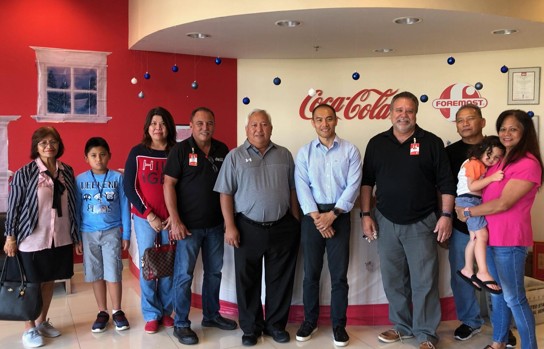 Coca-Cola gives away over <br>$12,000 in cash and prizes
